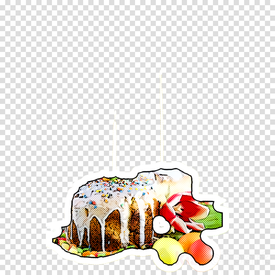 food cuisine cake dish fruit cake clipart.