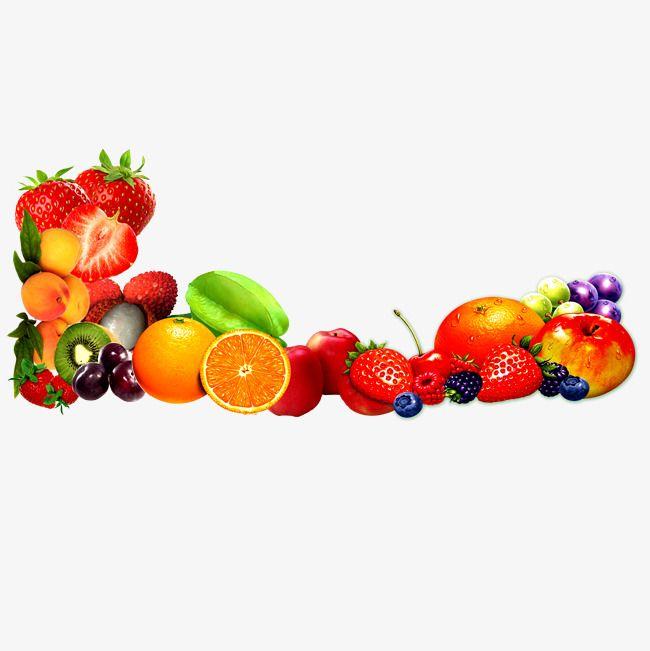Fresh Fruit Border.