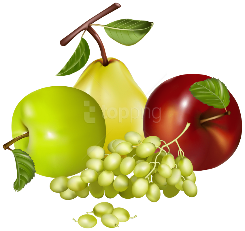 Download mixed fruits clipart png photo png.
