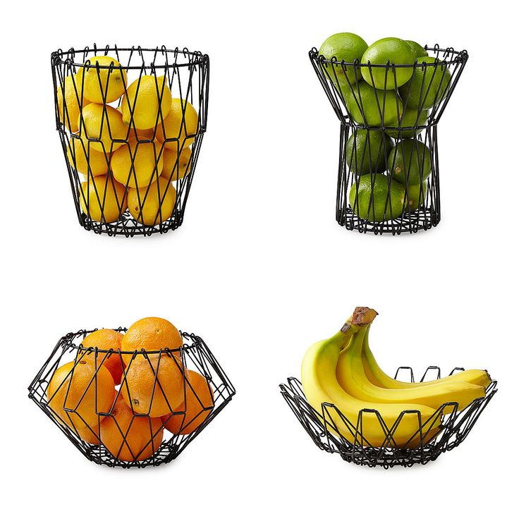 1000+ ideas about Wire Fruit Basket on Pinterest.