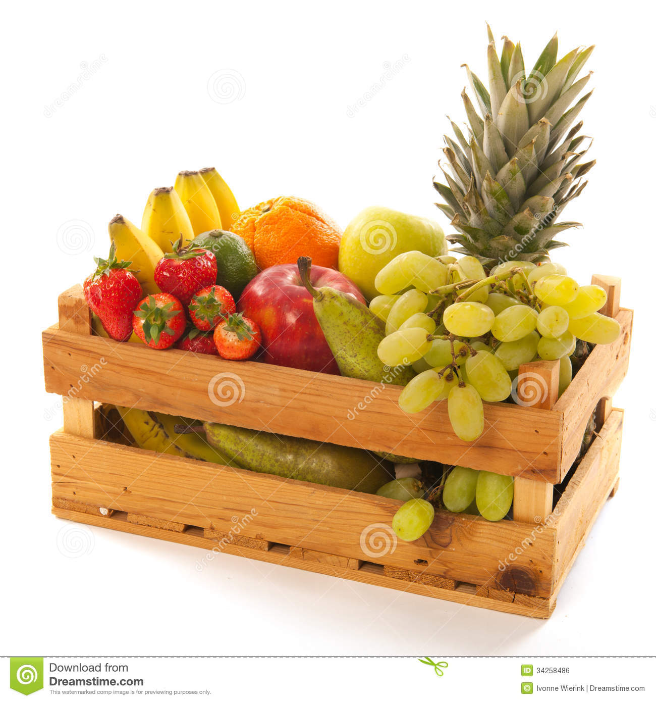 Fruit crate clipart clipground for Wooden fruit crates