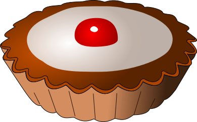 Free Desserts and Snacks Clipart, 6 pages of Public Domain Clip Art.