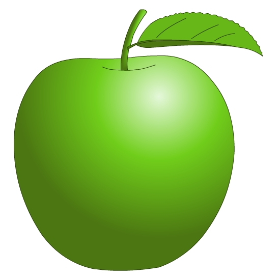 Green Fruit Clipart.