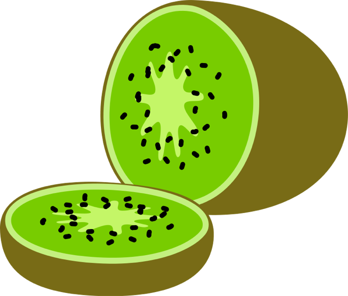Kiwis, Watermelon & Grapes.