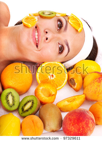 Peach Mask Stock Photos, Royalty.