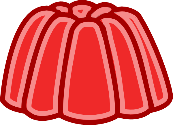 Red Jelly Clip Art at Clker.com.