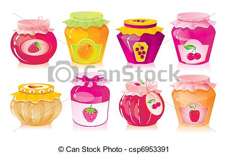 Strawberry jelly Vector Clip Art Illustrations. 550 Strawberry.