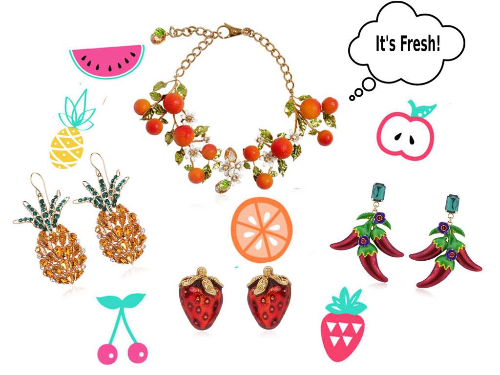 Fruit Jewelry 2016.