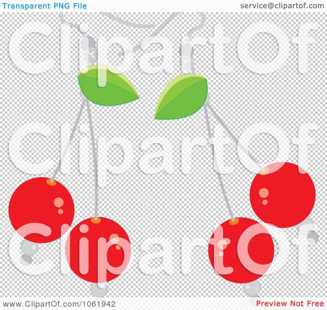 Clipart Bing Cherry Earrings.