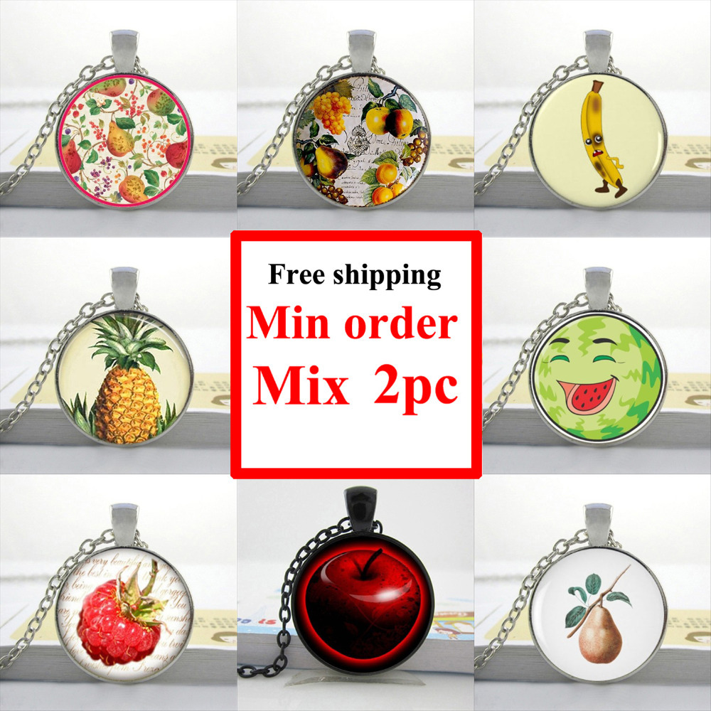 Online Get Cheap Fruit Necklace.