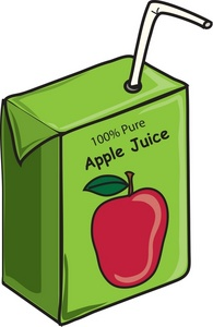 Apple Juice Clipart.