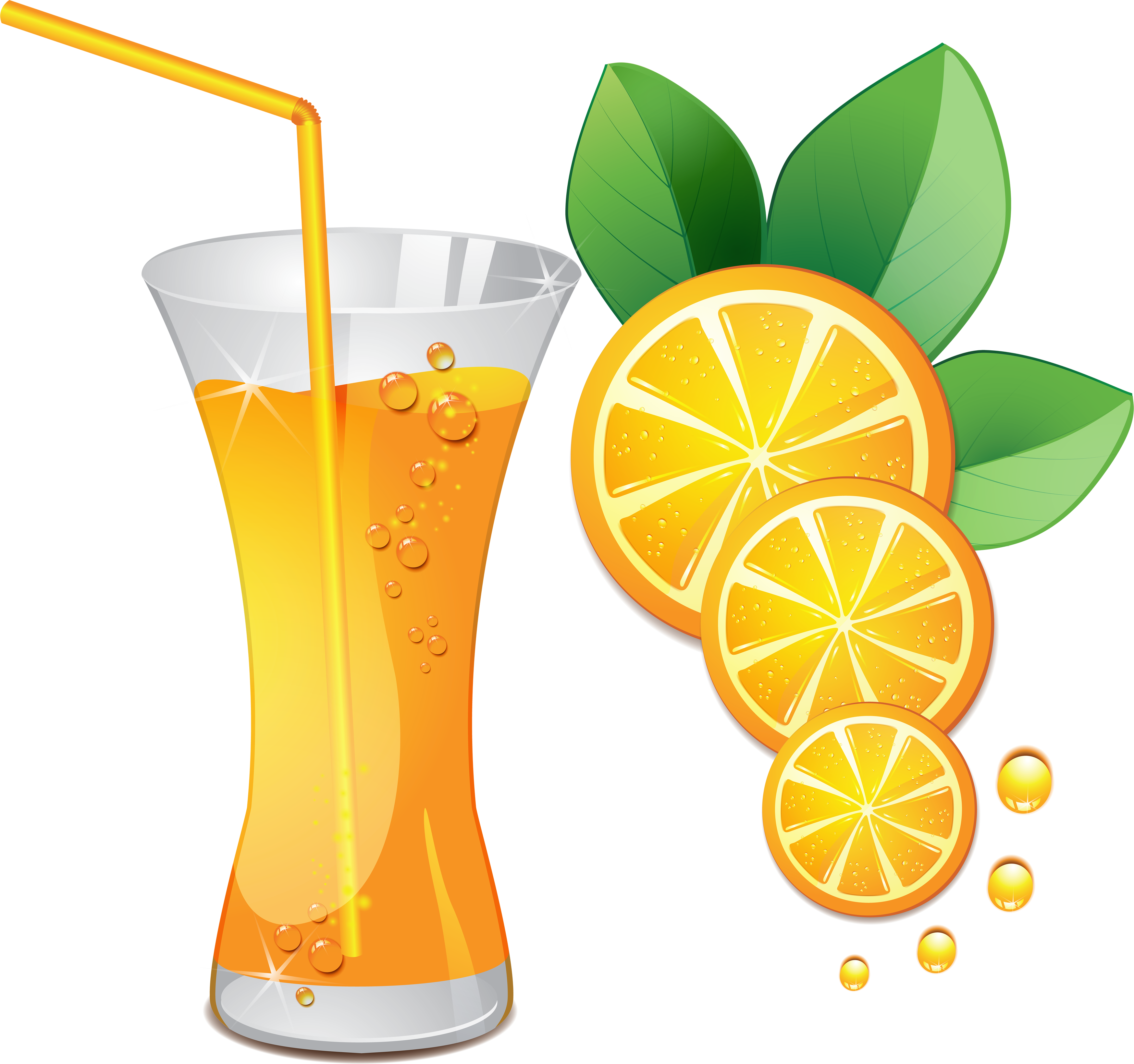 Fruit juice clipart.
