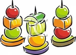 Fruit kabob clipart 4 » Clipart Portal.