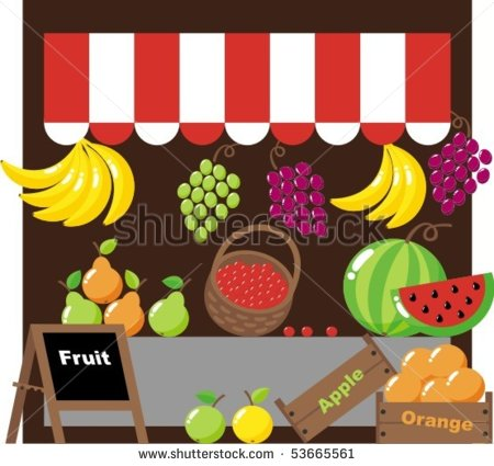 Fruit Market Clipart Clipground