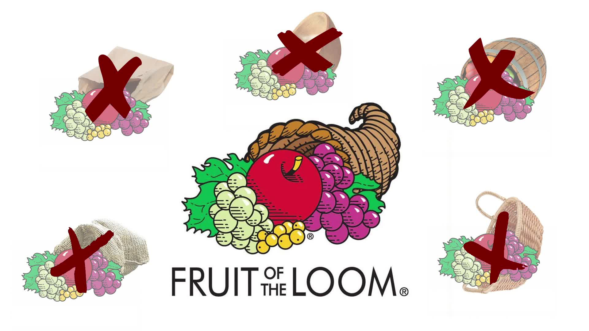 fruit of the loom logo mandela effect.