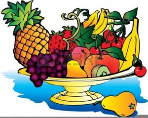 Fruit Platter Clipart.