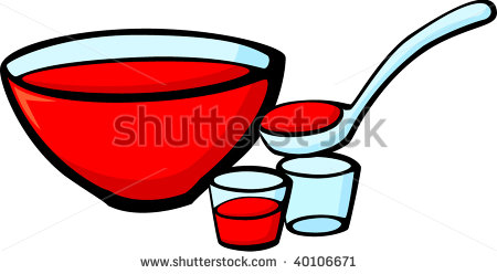 Fruit punch water clipart.