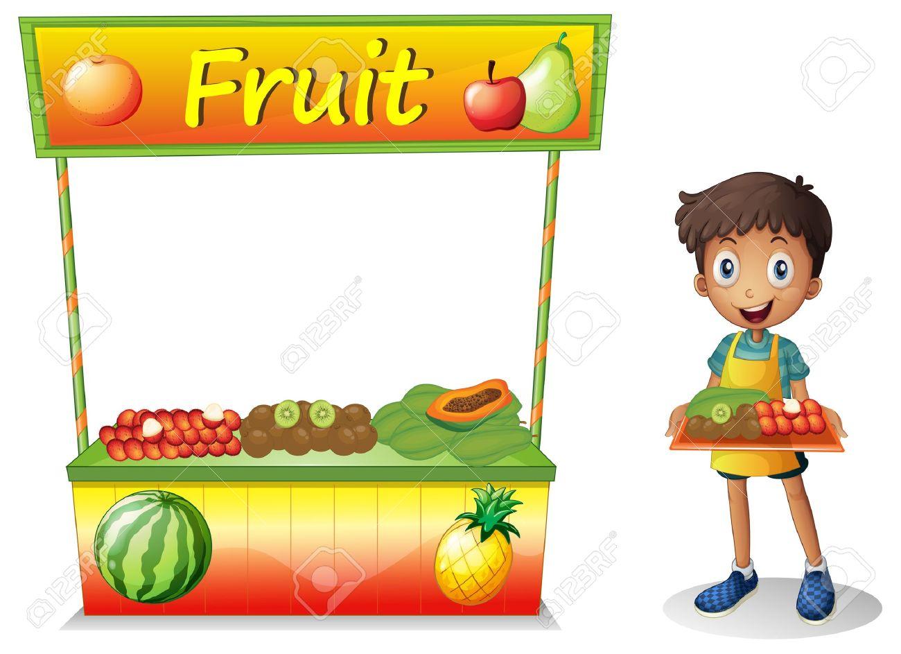 Fruit seller clipart 10 » Clipart Station.