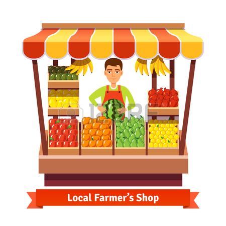 Fruit seller clipart 13 » Clipart Station.