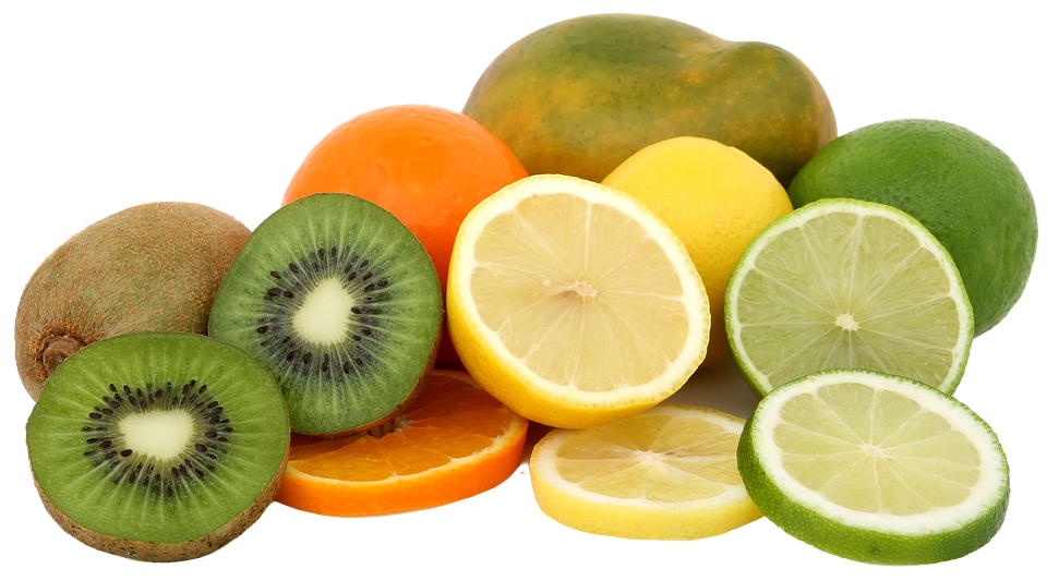 Fruit Isolated Slices.