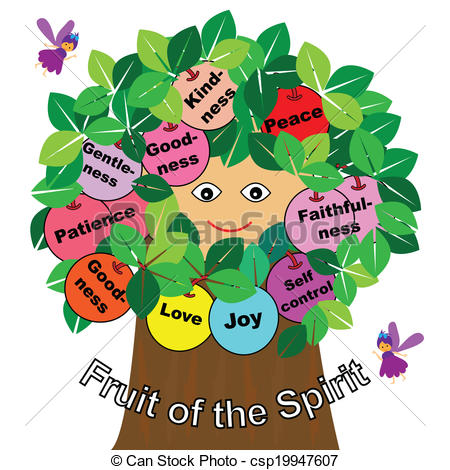 Fruit of the Spirit Clip Art Graphics.