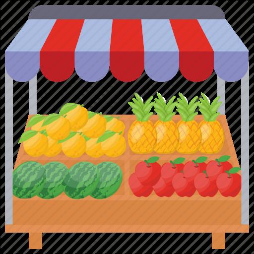 \'Street Food Stalls\' by Vectors Market.