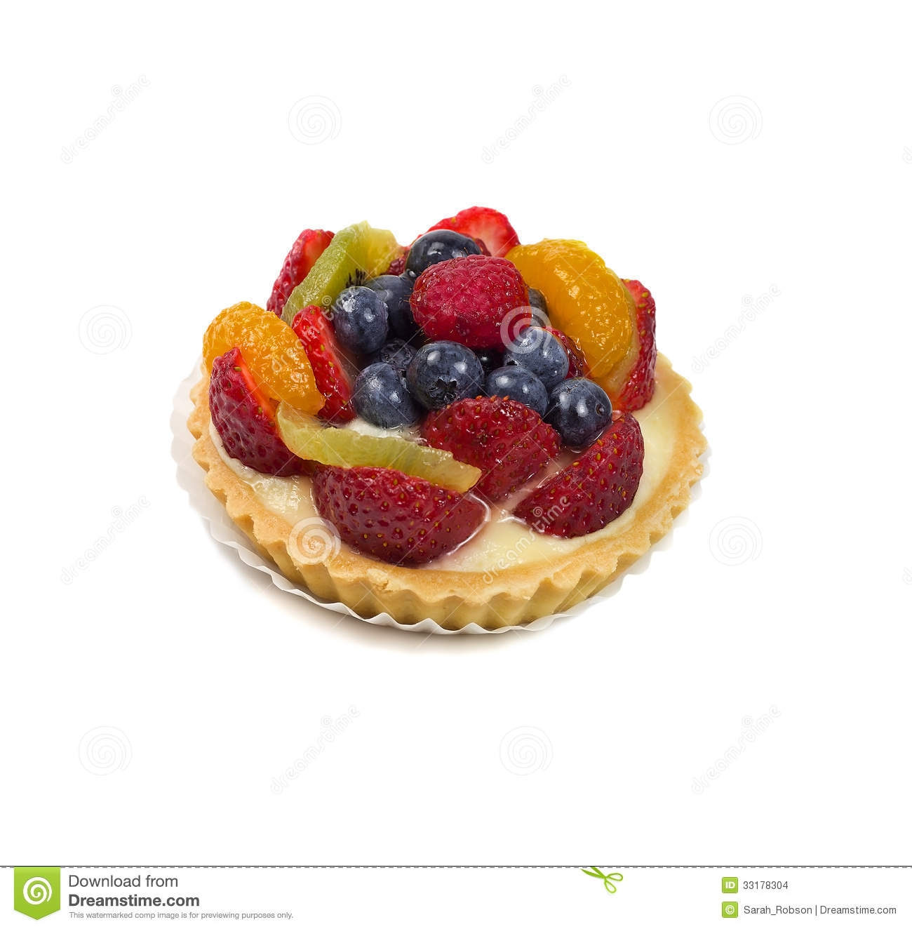 Fruit Tart Clipart.