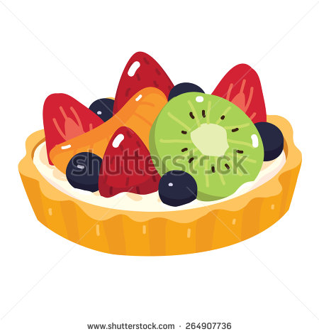 Fruit Tart Stock Photos, Royalty.