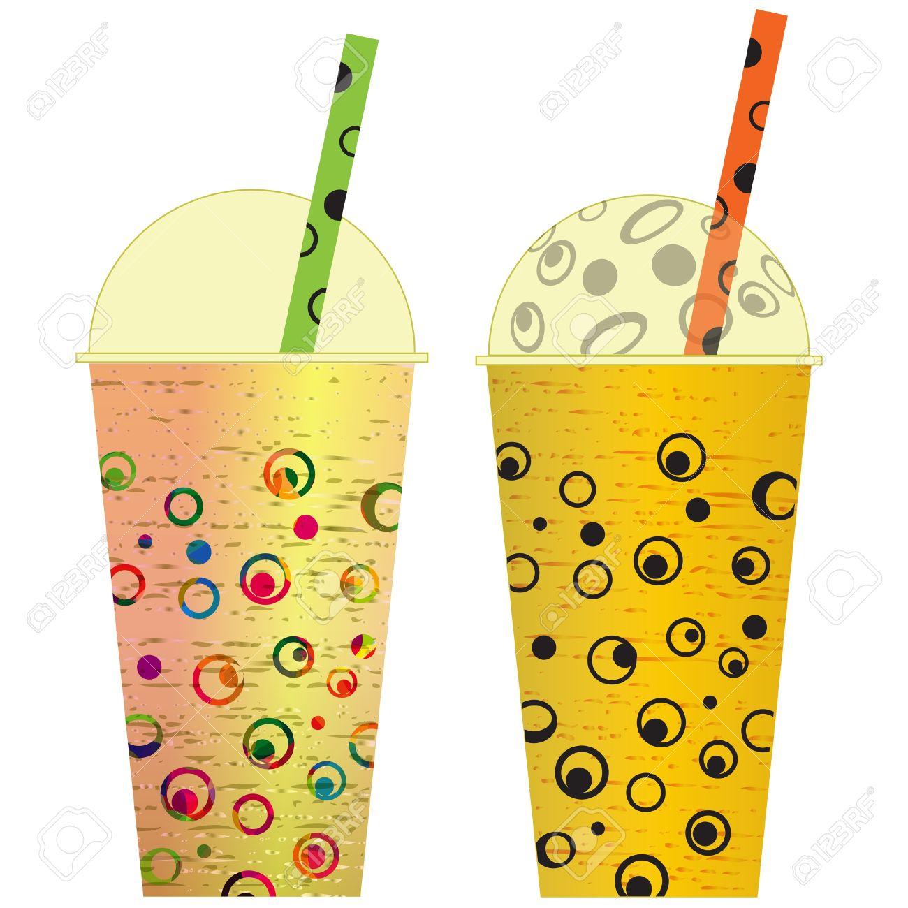 Fruit smoothie clip art.
