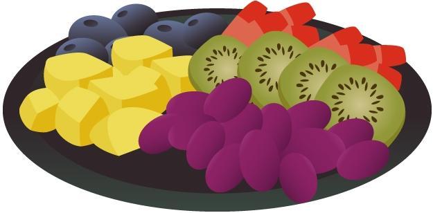 Fruit Tray Cliparts.