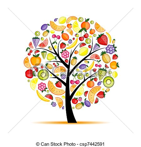 Fruit tree Clip Art Vector Graphics. 11,638 Fruit tree EPS clipart.