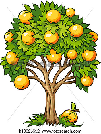 Fruit tree Clip Art Vector Graphics. 10,710 fruit tree EPS clipart.