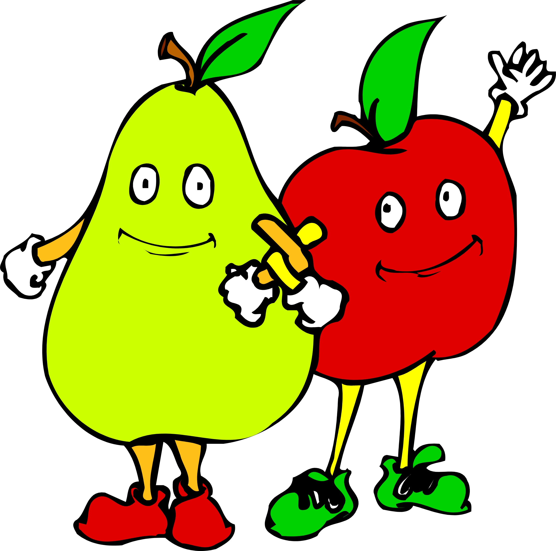 Fruit varieties clipart #18