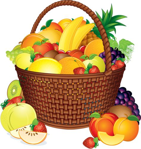 Fruit varieties clipart - Clipground