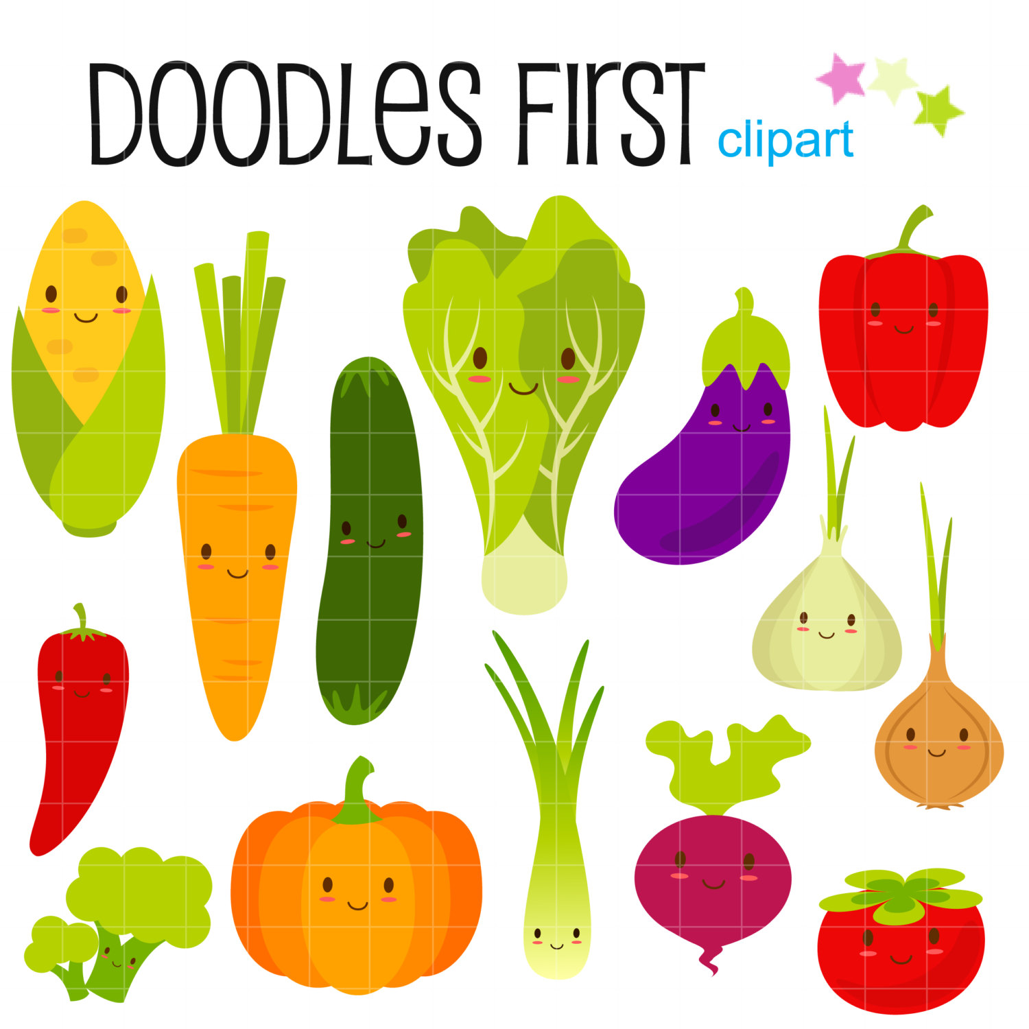 Fruits and vegetables clipart clipart.