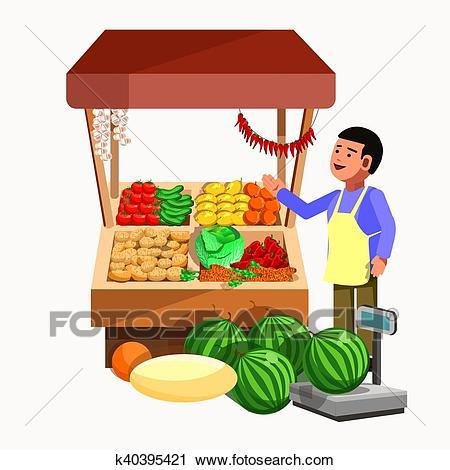 Fruit vendor clipart 6 » Clipart Portal.