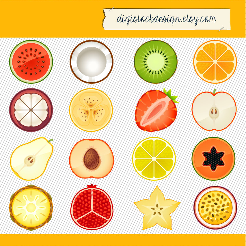 Fruit illustration.