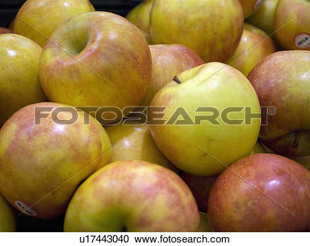 Stock Photography of doctor fresh apples in grocery store crisp.
