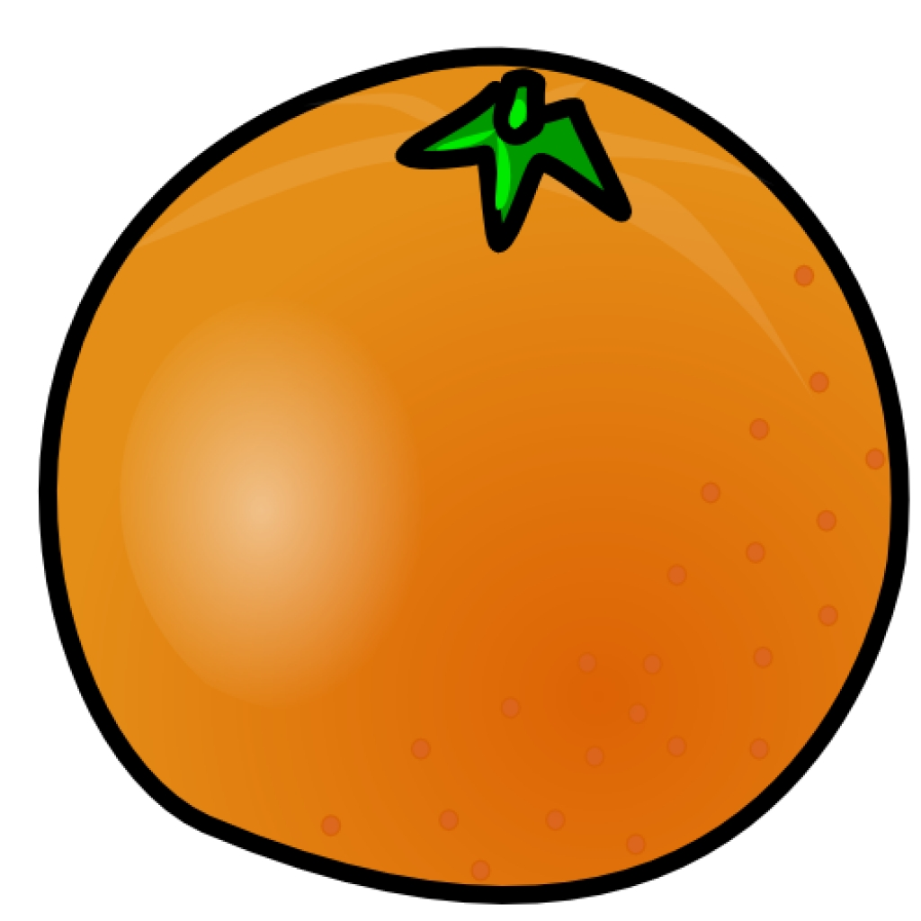 free orange clipart 1 page of public domain clip art with orange.
