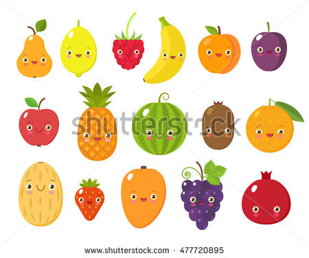 Fancy Fruit Stock Images, Royalty.