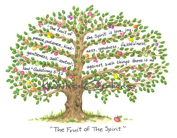 Bible Fruitful Tree Clipart.