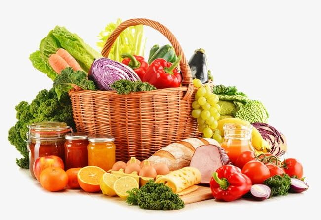 Beautiful Fruits And Vegetables PNG, Clipart, Apple, Bread, Broccoli.