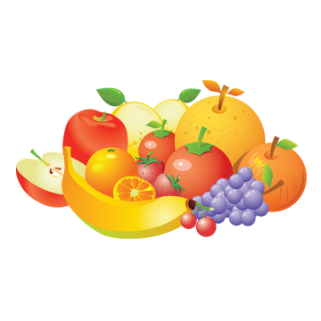 Vegetables And Fruits PNG Images.
