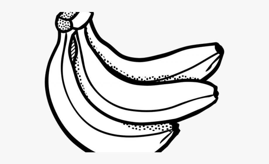 Fruits Clipart Black And White Png #2509958.