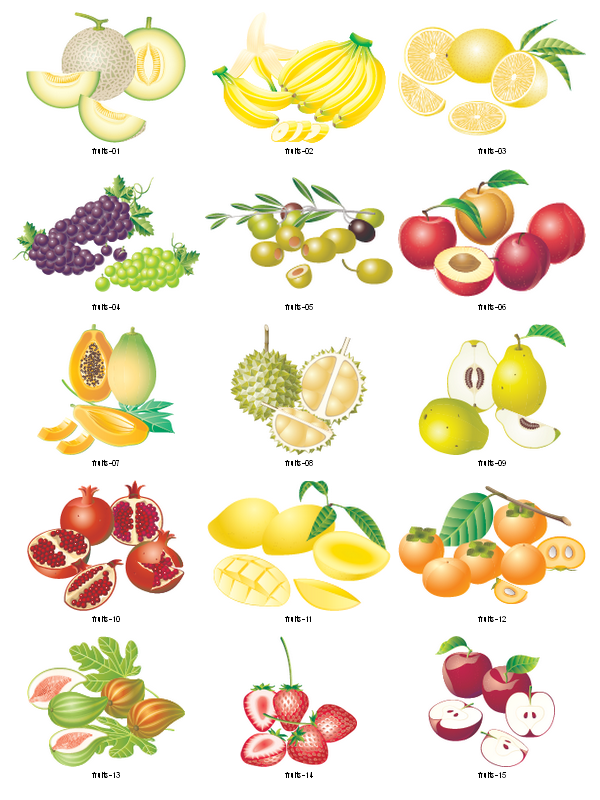 Fruits Clipart Free Download.