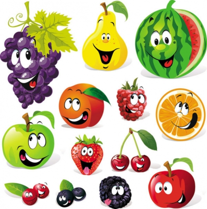 Download fruit clip art free clipart of fruits apple bananna 5.