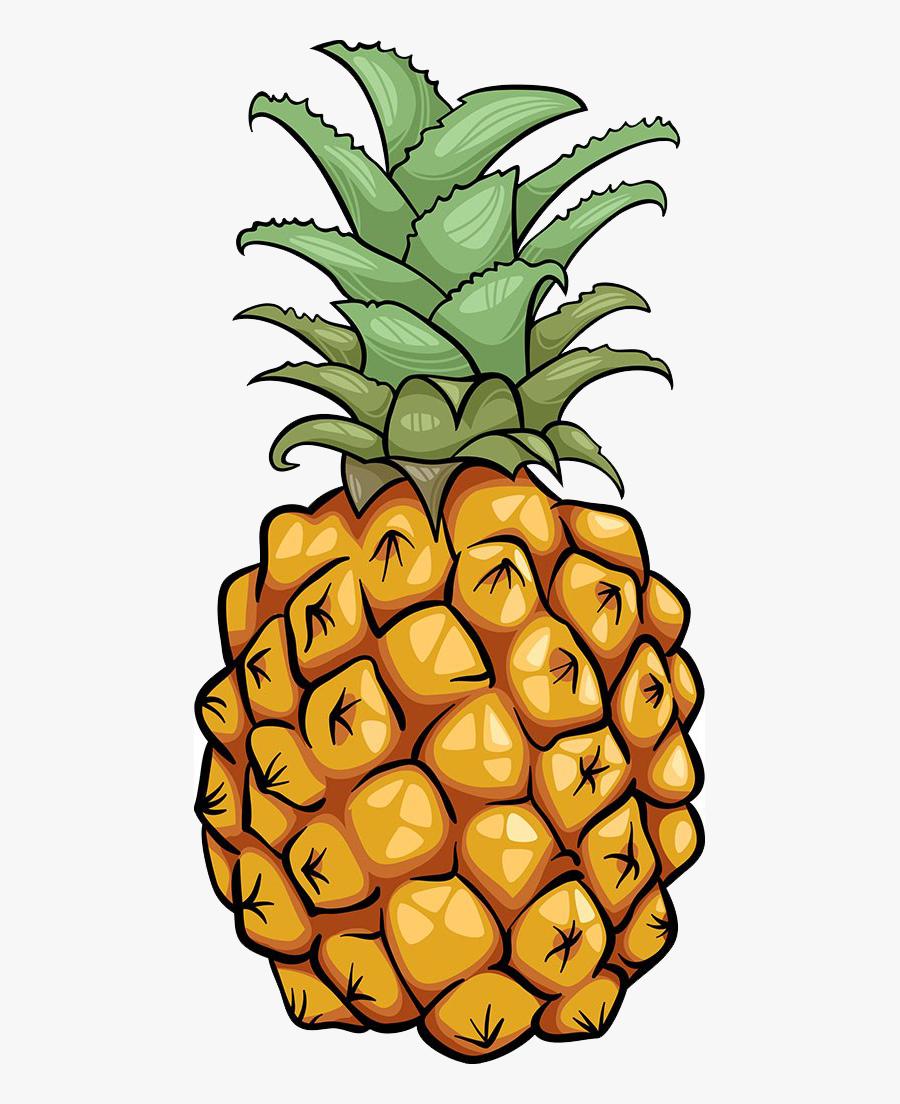 Pineapple Fruit Icon.