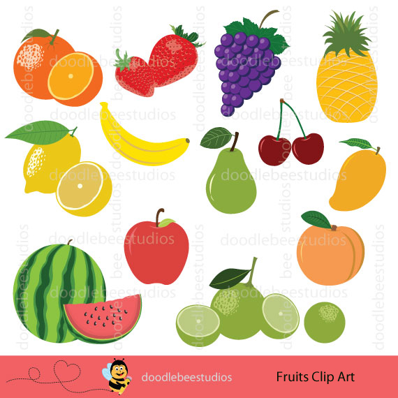 Fruits Clipart.