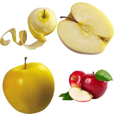 Fruits transparent PNG images.
