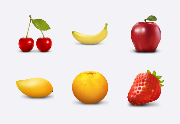 Paradise Fruit icons icons by.